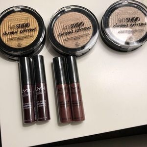 NYX and Maybelline Cosmetics